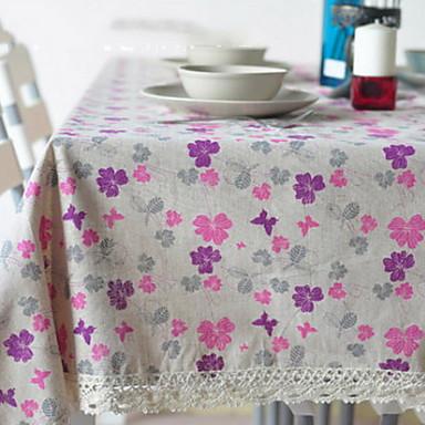 Amestec Bumbac Fețe de masă Imprimare Other Decoratiuni de tabla
