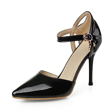 Mulheres Sapatos Couro Ecológico Sintético Verão Outono Inovador Conforto Saltos Caminhada Salto Agulha Dedo Apontado Presilha para