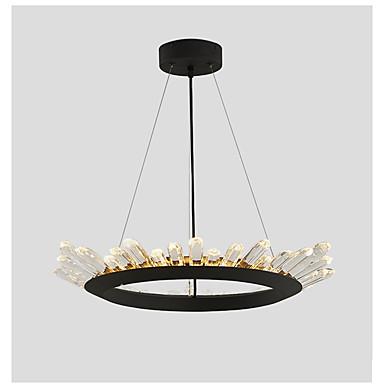Artistic Flush Mount Uplight - Crystal / Bulb Included, 110-120V / 220-240V, Warm White / Cold White, LED Light Source Included