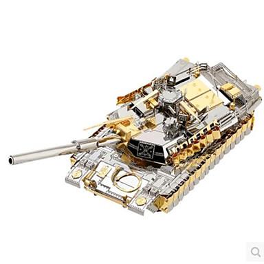 voordelige 3D-puzzels-3D-puzzels Legpuzzel Metalen puzzels Tank DHZ Metallic Aluminium Klassiek Volwassenen Unisex Speeltjes Geschenk