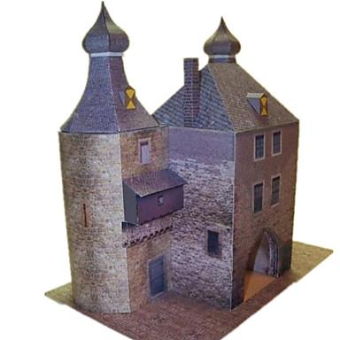 3D Puzzles Paper Model Paper Craft Model Building Kit Castle Famous buildings Architecture DIY Classic Unisex Gift