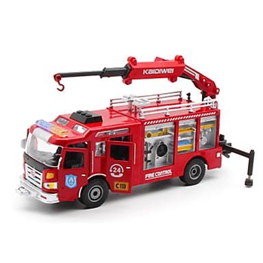 Carros de Brinquedo Brinquedos Veiculo de Construção Caminhão de Bombeiro Brinquedos Caminhão Caminhões de Bombeiros Plásticos Liga de