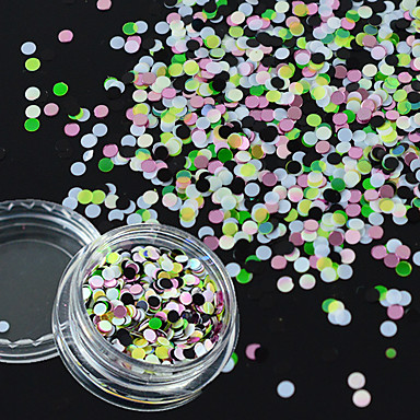 Sequins / DIY Supplies / 3-D Classic Daily Nail Art Design