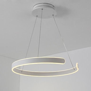 UMEI™ Linear Pendant Light Ambient Light White Aluminum Silica gel Dimmable 110-120V / 220-240V Warm White / White LED Light Source Included / LED Integrated