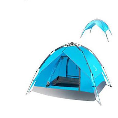 3-4 henkilöä Matkalaukku Rantateltta Kaksinkertainen teltta Automaattinen teltta Pidä lämpimänä varten Vedenpitävä materiaali CM