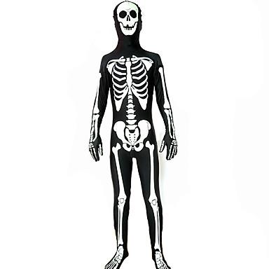 Zentai Drakter Morphsuit Zentai Cosplay-kostymer Lapper Trikot/Heldraktskostymer Zentai Spandex Polyester Unisex Halloween Jul