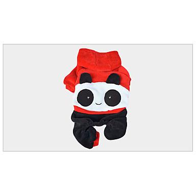 Dog Costume Dog Clothes Keep Warm Animal Red