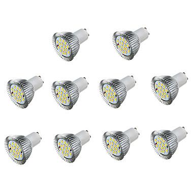 5W 450 lm GU10 Lâmpadas de Foco de LED MR16 16 leds SMD 5730 Decorativa Branco Quente Branco Frio AC 85-265V