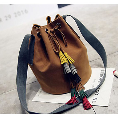 Women Bags All Seasons PU Shoulder Bag for Casual Outdoor Green Black Brown