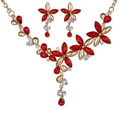 Women's Drop Earrings Necklace Acrylic Chrome Geometric Geometric Christmas Gifts Anniversary Congratulations Thank You Gift Bikini