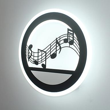 Creative LED Bedroom Bedside Wall Lamp  Acrylic Entrance  Aisle Light Simple Modern Staircase Balcony Lamps