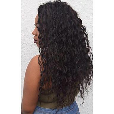 Cabelo Indiano Ondulação Larga Cabelo Humano Cabelo Humano Ondulado Tramas de cabelo humano Extensões de cabelo humano