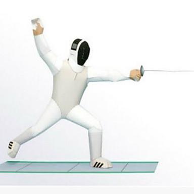voordelige 3D-puzzels-3D-puzzels Bouwplaat Modelbouwsets Sporten DHZ Wedstrijd Hard Kaart Paper Klassiek Kinderen Unisex Jongens Speeltjes Geschenk