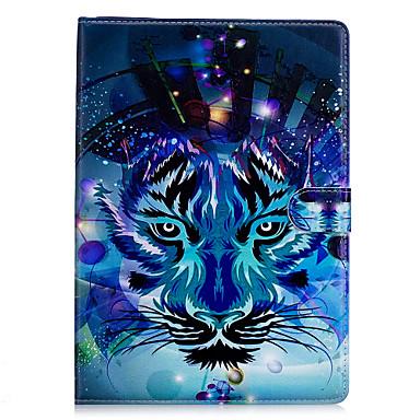 Capinha Para Apple iPad Mini 4 iPad Mini 3/2/1 Origami Estampada Capa Proteção Completa Animal Rígida PU Leather para iPad Mini 4 iPad