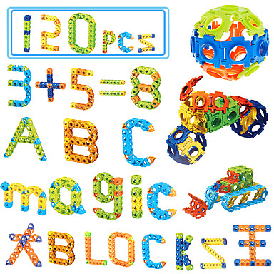 Blocos de Construir Brinquedos Matemáticos Brinquedo Educativo Quadrada Eagle Faça Você Mesmo Unisexo Brinquedos Dom