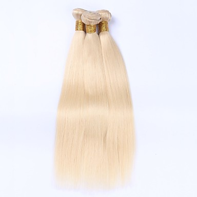 3 Bundles Malaysian Hair Straight Human Hair Precolored Hair Weaves Human Hair Weaves Human Hair Extensions