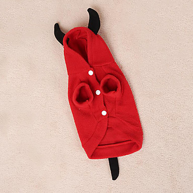 Dog Costume Dog Clothes Angel & Devil Cotton Down Costume For Pets Men's Women's Cosplay
