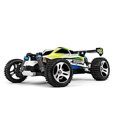 Radiostyrt Bil WLtoys A959-B 2.4G Buggy (Off- Road) / Off Road Car / Racerbil 1:18 Børste Elektrisk 70 km/h KM / H Fjernkontroll / Oppladbar / Elektrisk