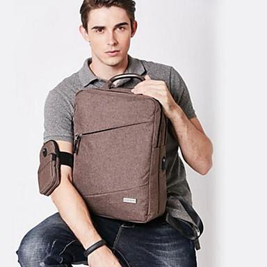 Men Backpack PU All Seasons Casual Round Zipper Black Gray Coffee