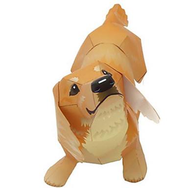voordelige 3D-puzzels-3D-puzzels Bouwplaat Modelbouwsets Honden Dieren DHZ Hard Kaart Paper Klassiek Kinderen Unisex Jongens Speeltjes Geschenk