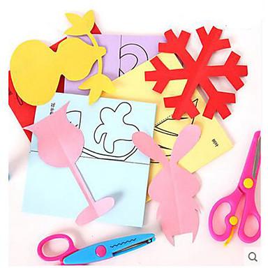 Artesanato de Papel Brinquedo Educativo Antiestresse Rectângular Quadrada Faça Você Mesmo Clássico Unisexo