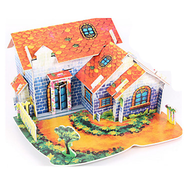 3D Puzzle / Jigsaw Puzzle / Paper Model House DIY High Quality Paper Classic Kid's Unisex / Boys' / Girls' Gift