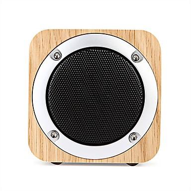 Bluetooth 2.0 3,5mm puu käsityöt Tumman harmaa Vaalean ruskea