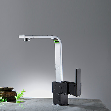 Kitchen faucet - Contemporary Chrome Modern / Contemporary Vessel