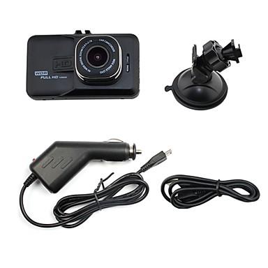 C206 Full HD 1920 x 1080 DVR de carro Ângulo amplo 3 polegada Dash Cam com G-Sensor / Modo de Estacionamento / Deteção de Movimento Gravador de carro / Gravação em Loop / auto on / off