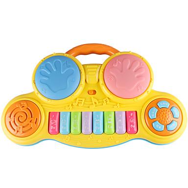 Bateria Acessório para Casa de Boneca Brinquedo de música Brinquedo Educativo Instrumento Musical de Brinquedo Bateria Crianças