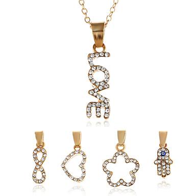 Women's Pendant Necklaces Personalized Geometric Fashion Rock Euramerican Dailywear Sport Gift Sports Street Going out Club Ferroalloy