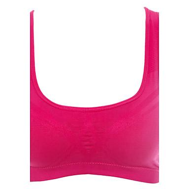 Dame Lett støtte SportsBH-er Justerbare / Uttrekkbar Anti-Ryste/Demping Svettereduserende til Løper Yoga & Danse Sko Pilates Trening &