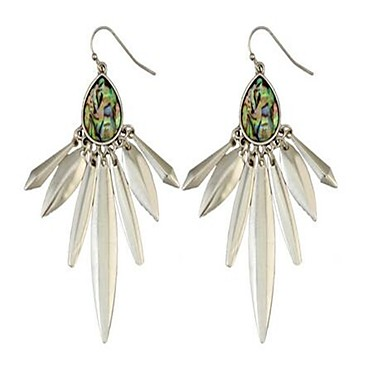 Women's Drop Earrings Personalized Vintage Fashion Oversized Alloy Drop Irregular Jewelry For Party Evening Party Stage Holiday