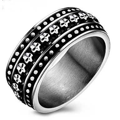 Men's Women's Band Ring Personalized Luxury Classic Basic Sexy Elegant Cute Style Fashion Simple Style Alloy Geometric Jewelry Christmas