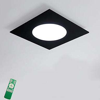 Chic & Modern Flush Mount Ambient Light - Bulb Included, 220-240V, Dimmable With Remote Control, LED Light Source Included