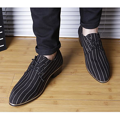 Men's Shoes Pigskin Spring Fall Comfort Oxfords for Casual Black