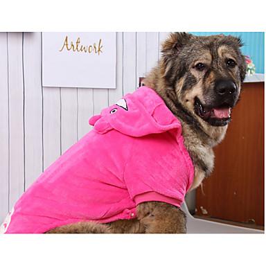 Hund Hettegensere Hundeklær Tegneserie Bomull Dun Kostume For kjæledyr Hold Varm