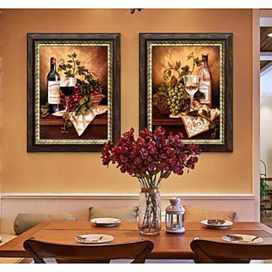 elävä nordic minimalistinen koti seinä koristelu maalaus roikkuu amerikkalainen kehystetty art set 2