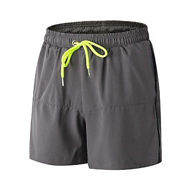 Men's Running Split Shorts - Black, Gray, Fruit Green Sports Shorts / Baggy Shorts Fitness, Gym, Workout Activewear Lightweight, Fitness, Running & Yoga, Quick Dry Stretchy / Anatomic Design
