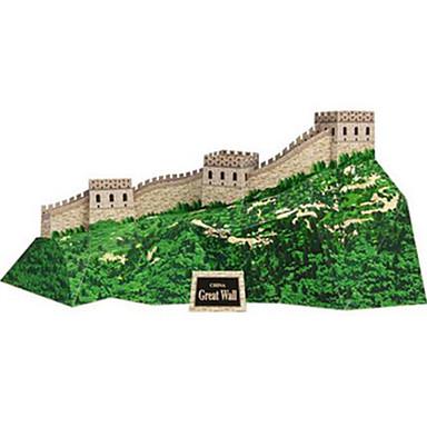 Quebra-Cabeças 3D Maquetes de Papel Brinquedos de Montar Quadrada Construções Famosas Arquitetura Chinesa Arquitetura Faça Você Mesmo