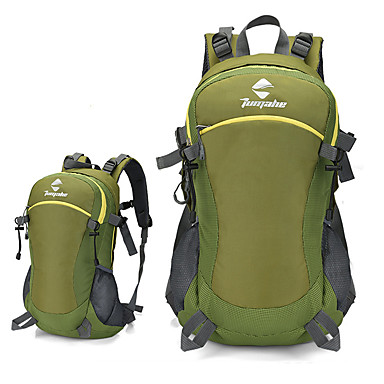 40 L Daypack Backpacks Camping / Hiking Casual Traveling Bike/Cycling Anti-Slip Anti-Wear Portable Windproof Breathable Laptop Packs Nylon