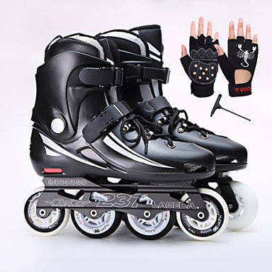 Erwachsene Handgelenkschoner Inline-Skates Stoßfest Schwarz