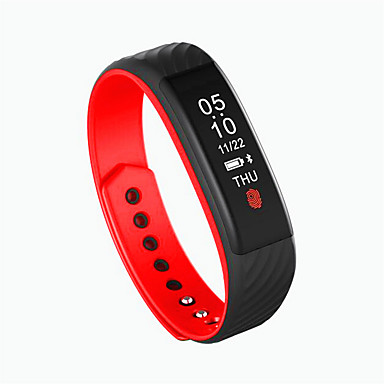 Smart Bracelet Water Proof Long Standby Calories Burned Pedometers Exercise Record Heart Rate Monitor Anti-lost for Ios Android