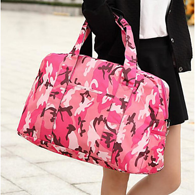 Women's Bags Polyester Travel Bag for Casual Outdoor All Seasons Fuchsia sky blue Army Green