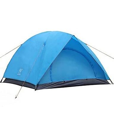 3-4 Personen Zelt Doppel Camping Zelt Einzimmer Falt-Zelt Wasserdicht Rasche Trocknung Regendicht Staubdicht Klappbar für Camping &