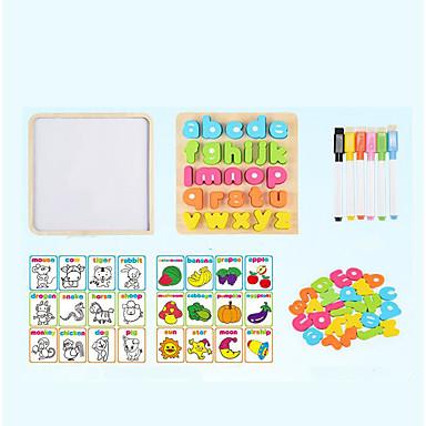 Blocos de Construir Quebra-Cabeça Brinquedos Matemáticos Brinquedo Educativo Brinquedos Quadrada De madeira Madeira Crianças Peças