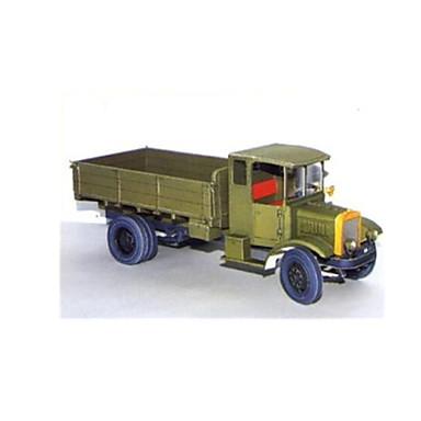 Quebra-Cabeças 3D Quebra-Cabeça Artesanato de Papel Caminhão Simulação Faça Você Mesmo Clássico Caminhão Crianças Para Meninos Unisexo Dom