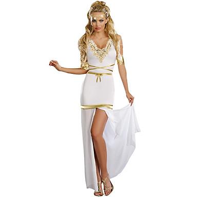 Dronning Egyptiske Kostymer Cosplay Cleopatra Cosplay Kostumer Party-kostyme Kvinnelig Festival/høytid Halloween-kostymer Vintage