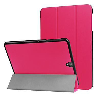 Capinha Para Samsung Galaxy Capa Proteção Completa Tablet Cases Sólido Côr Sólida Rígida PU Leather para Tab S3 9.7