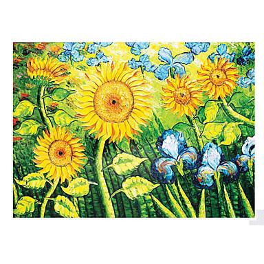Jigsaw Puzzle Castle Famous buildings Flower Wooden Wood Unisex Gift